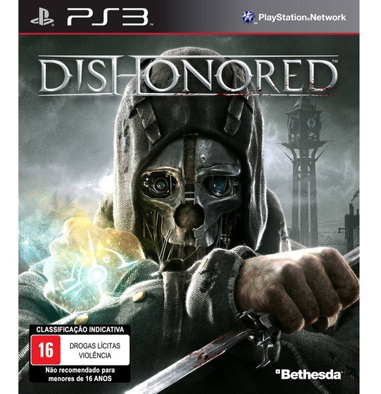 Game Ps3 Dishonored - Original - Novo - Lacrado