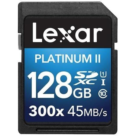 5930 Lexar Memoria Sdhc/sdxc 128gb Platinum Ii Lsd128gbbnl30