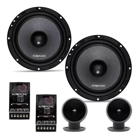 Kit 2 Vias Audiophonic Kc6.3 6,5 160w Hi-end Qualidade