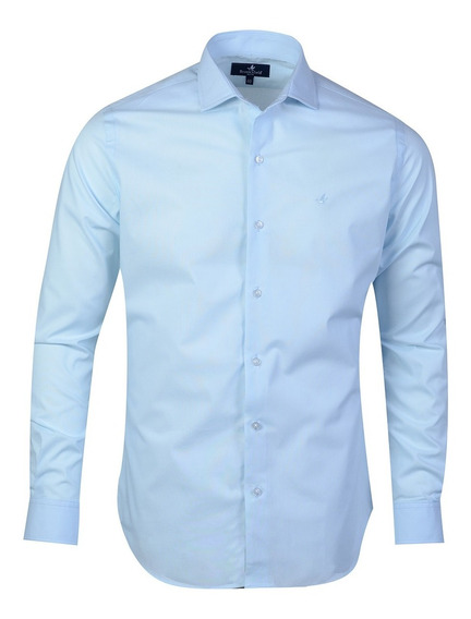Camisa Hombre Algodón Premium Moda Slim Fit Brooksfield