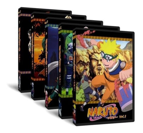 Dvd Naruto Classico - Dublado