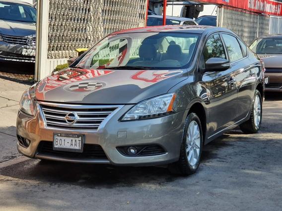 Nissan Sentra Advance 2015 Cvt Factura De Agencia Impecable!