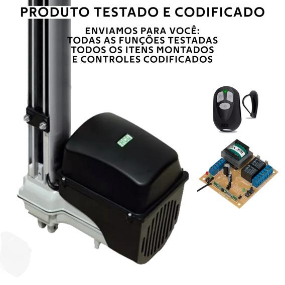 Kit Motor Automatizador Para Portão Basculante Maxi 450kg
