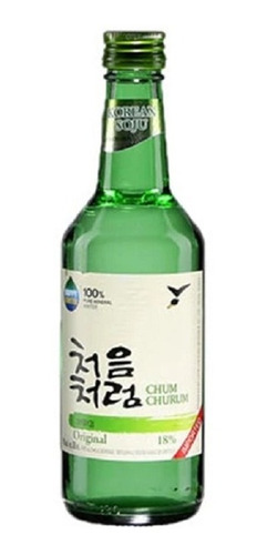 Alcohol Coreano Soju Chum Churum Original 1 Pza 360 Ml