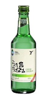 Alcohol Coreano Soju Chum Churum Original 1 Pza 360 Ml