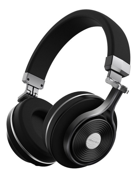 Fone Bluedio T3+ Wireless Bluetooth 4.1 Stereo Sem Fio Preto