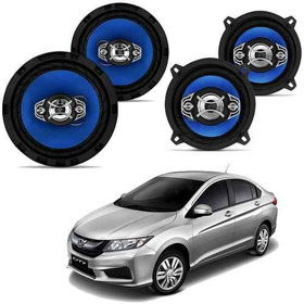 Kit Alto Falante Honda City Quadraxial 5 E 6 Pol 220w Orion