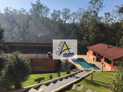 Imagem 1 de 29 de Chácara Com 3 Dormitórios À Venda, 2300 M² Por R$ 879.000,00 - Santa Luzia - Ribeirão Pires/sp - Ch0022