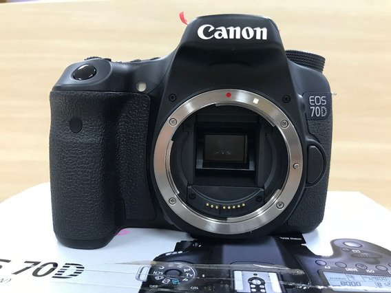 Câmera Canon Eos 70d Dslr