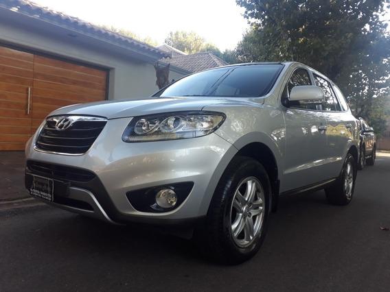 Hyundai Santa Fe Gls Nafta 2.4 Mt6ta 2wd 7 Asientos 2012