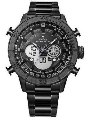 Relógio Masculino Weide Anadigi Wh-6308 - Preto
