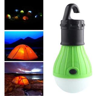 Lâmpada De Led P/ Camping Tent Lamp C/ Gancho