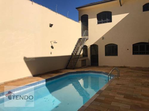 Imagem 1 de 30 de Imob02 - Sobrado 446 M² - Alugar - 5 Dormitórios - 5 Suítes - Jardim América - Indaiatuba/sp - So0665