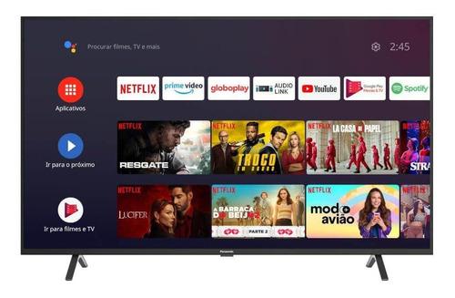 Imagem 1 de 4 de Smart Tv Led Panasonic 50  4k Ultra Hd Com Comando De Voz