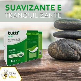 Cera Quente Depilatória Elástica Algas 1kg Tutti Depil