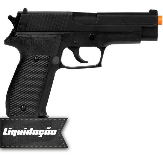Pistola Pressão Esfera Aço 4.5mm Kwc P226 Semi Metal+ Esfera