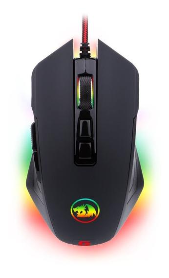 Mouse Gamer Redragon M715 Dagger Chroma 10000 Dpi 7 Botões