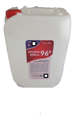 Imagen 1 de 1 de Alcohol Etílico 96° De Caña Paquete 2 Garrafas De 20lts