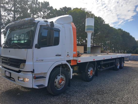 Caminhão Mb Atego 2425 Prancha Hidraúlica.