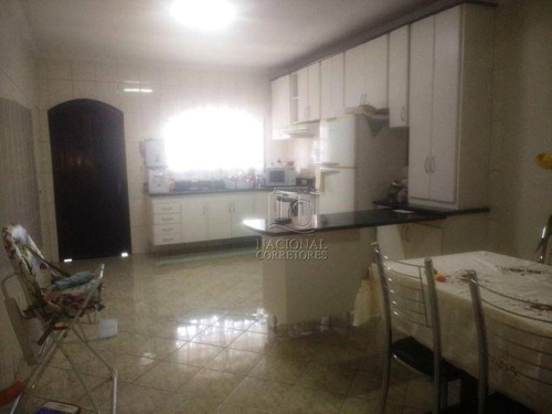 Imagem 1 de 23 de Sobrado Com 3 Dormitórios À Venda, 270 M² Por R$ 780.000 - Vila Curuçá - Santo André/sp - So3396