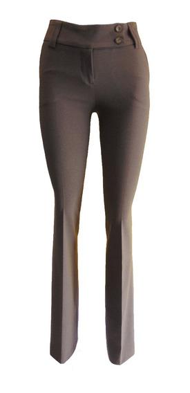 Pantalon Corte Recto De Dama