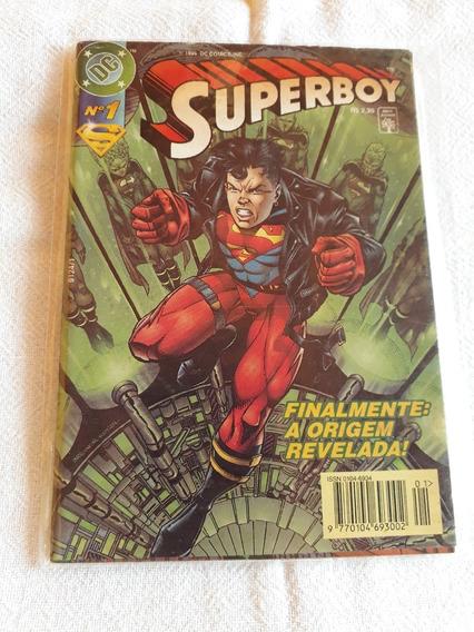 Gibi Super Boy Raro Antigo N°1 A Origem Revelada 1997
