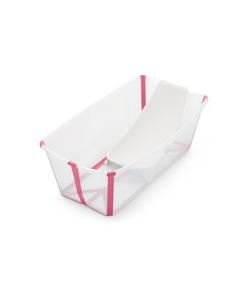 Pack Tina Flexi Bath Transparent Pink Stokke