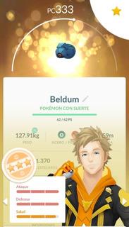 Pokemon Go Beldum Intercambio/captura