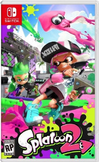 Splatoon 2 Nintendo Switch (nuevo Y Sellado De Fabrica)