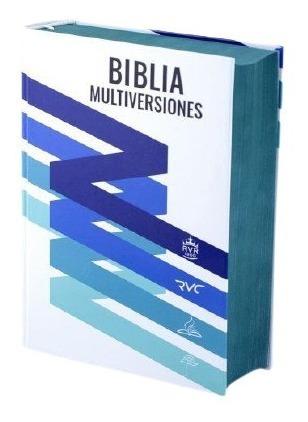 Imagen 1 de 8 de Biblia Multiversiones (4 En 1) Rvr1960, Rvc, Dhh, Tla Estudi