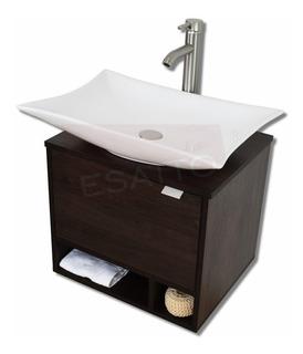 Esatto® Mueble Baño Dcta Stella Satin Lavabo Llave Céspol