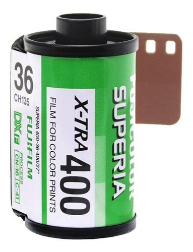 Rollo Fujifilm Superia X-tra 400 Asas X36 Exp Entrega