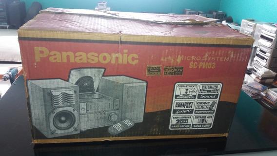 Panasonic Sc-pm03 Raro Novo Aberto Para Fotos