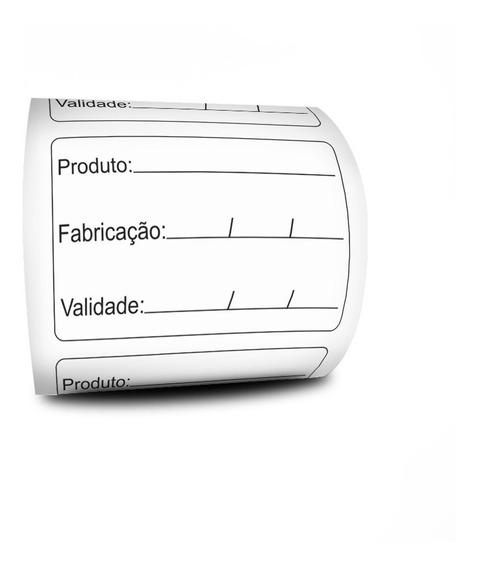 Etiqueta Validade De Alimento Anvisa 60x40 - Milheiro
