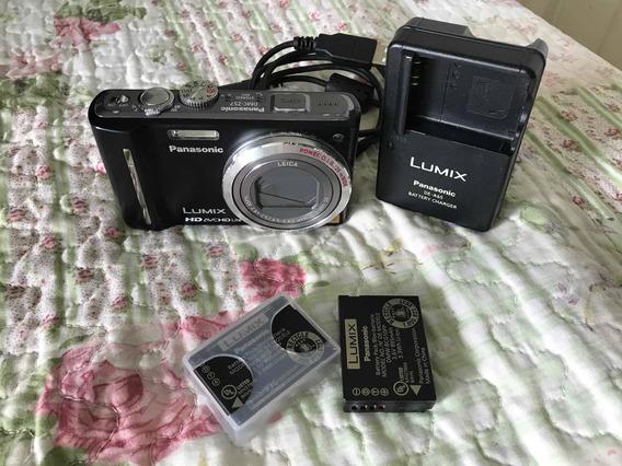 Câmera Panasonic Zoom Óptico De 12x