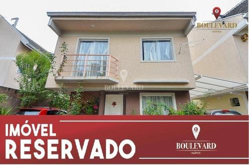 Imagem 1 de 18 de Sobrado Condomínio Fechado, Com 3 Dormitórios À Venda, 86 M² Por R$ 345.000 - Uberaba - Curitiba/pr - So0210