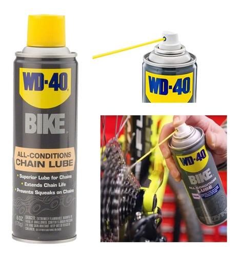 Lubricante De Cadena Wd-40 Bike - Aerosol - Seco Humedo