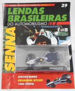 Lendas Brasileiras Ed 29 Brabham Bmw Bt52b - Ayrton Senna