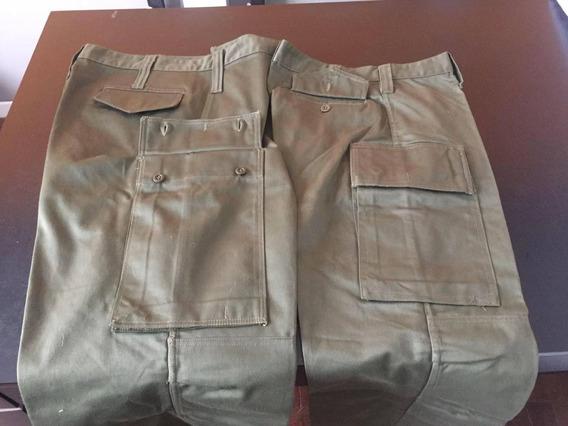 Pantalon De Ejercito Argentino Verde Oliva