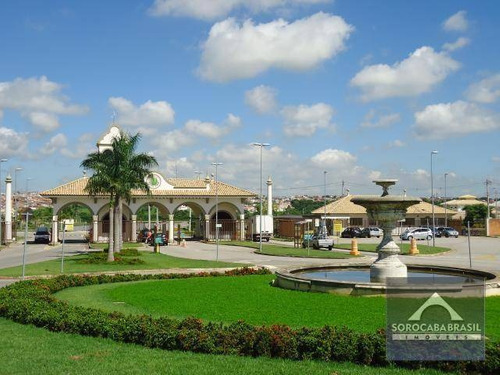 Terreno À Venda, 300 M² Por R$ 300.000,00 - Condomínio Ibiti Royal Park - Sorocaba/sp - Te0046