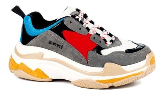 Zapatillas Sneakers Gummi Plataforma 5 Cm Balen Rimini
