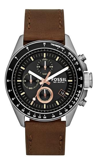 Relógio Fossil Masculino Decker Cronograph Couro Ch2885/2pn