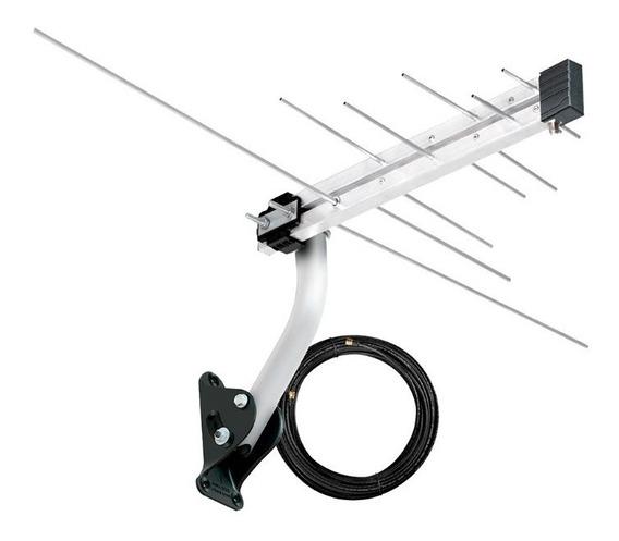 Antena Externa Digital Aquário Completa Pronta Para Instalar