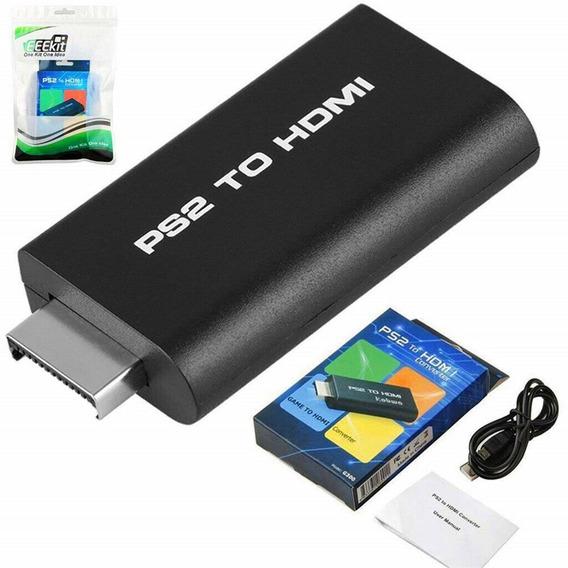 Adaptador Conversor Ps2 P/ Hdmi 720/1080p Tv Led Lcd