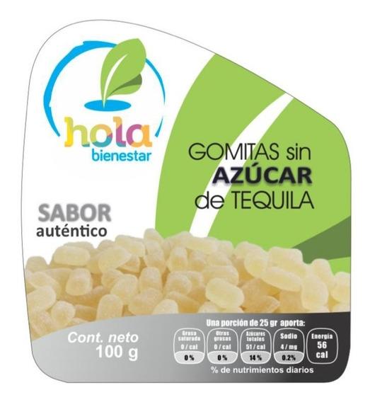 Gomitas Gourmet Tequila Sin Azúcar 100% Nat Bolsa ¡oferta!