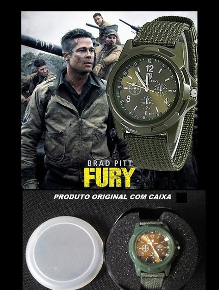 Relógio Militar Gemius Army Estilo Vintage 2º Guerra Mundial