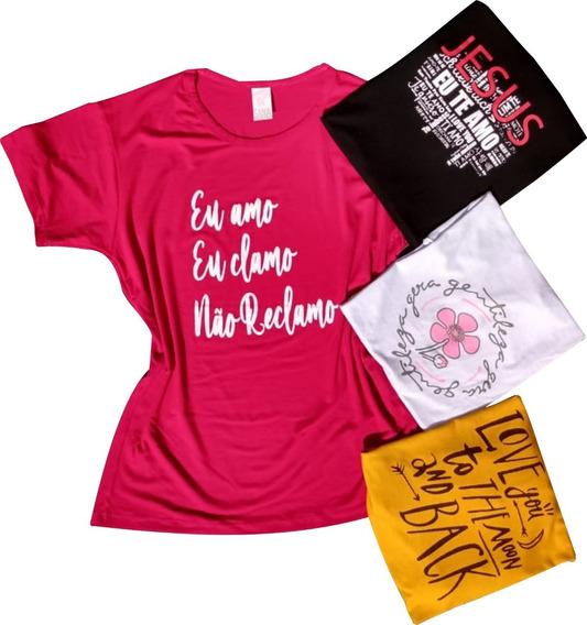 Kit60 Peças Baby Look Femininas Atacado Roupas Camisetas