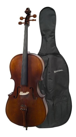 Violoncello Michael 4/4 Vom146 + Arco E Bag Produto Showroom