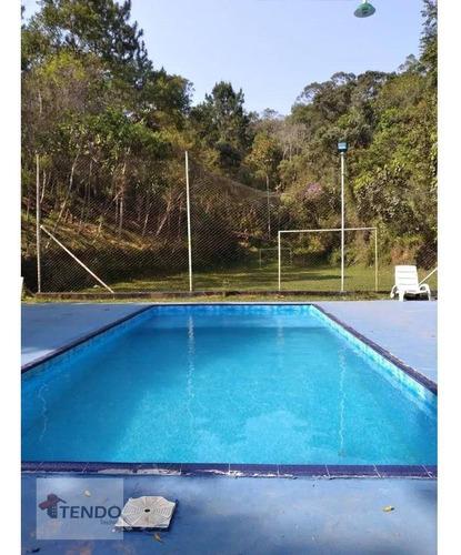 Imagem 1 de 15 de Sítio Com 4 Dormitórios À Venda, 24200 M² Por R$ 955.000 - Chácara Boa Vista Palmeiras - Suzano/sp - Si0007