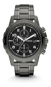 Reloj Caballero Fossil Fs4721 Color Gunmetal De Acero